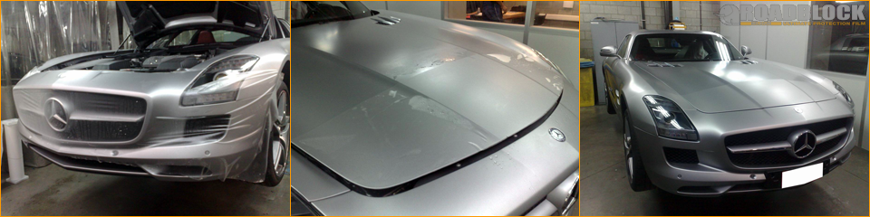 Roadblock Matte Protection Film Mercedes SLS